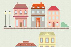 Link toCartoon street design vector