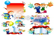 Link toCartoon style child theme vector
