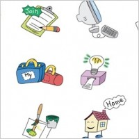 Link toCartoon style vector elements 01