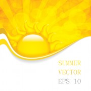 Link toCartoon summer sun vector background 01 free