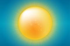Link toCartoon summer sun vector