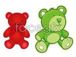 Link toCartoon teddy bear vector