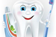 Link toCartoon tooth design vector