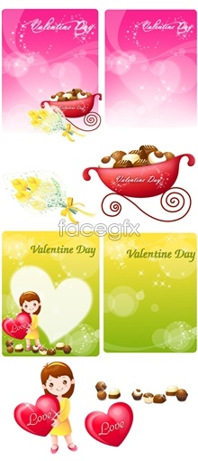 psd theme day valentine's Cartoon