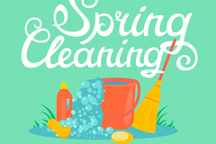 Link toCartoon vector illustration for spring cleaning