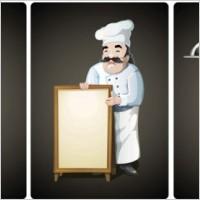 Link toCartoon waiter vector