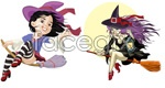 Link toCartoon witch vector
