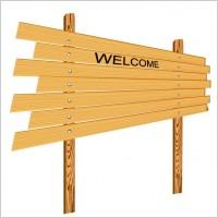 Link toCartoon wooden signs 04 vector