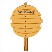 Link toCartoon wooden signs 05 vector