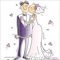 Link toCartoonstyle wedding elements 01 vector