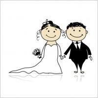Link toCartoonstyle wedding elements 05 vector