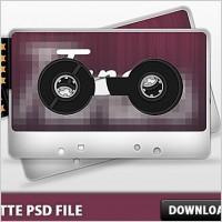 Link toCasette psd file