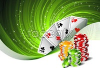 Link toCasino card chip vector