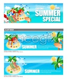 Link toCasual beach vector