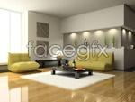Link toCasual living room decor psd