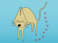 Link toCat cartoon vector free