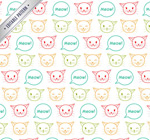 Link toCat head seamless background vector