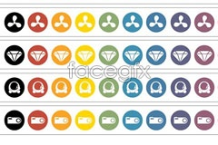 Link toicons vector shopping style simple Categori