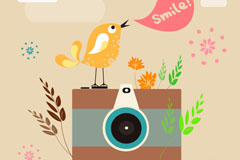 Link toCelebrity snaps and bird illustrator vector