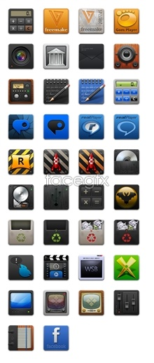 Link toCell phone transparent icon material