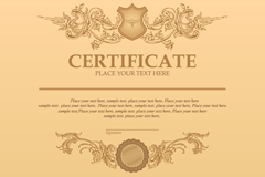 Link toCertificate classical pattern vector