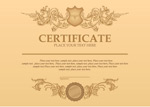 Certificate of classical patterns vector