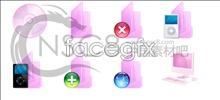 Link toCharm pink folder