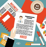 Link toCheck out resume business illustrations vector