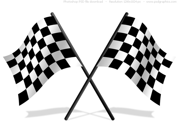 Link toCheckered flags psd icon