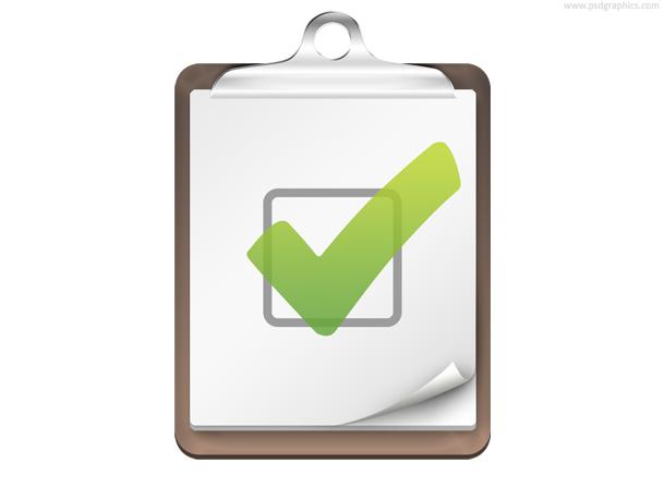 Link toChecklist icon (psd)