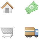 Link toCheckout process icons