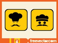 Link toChef icons vector free