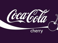 Cherry cola vector free