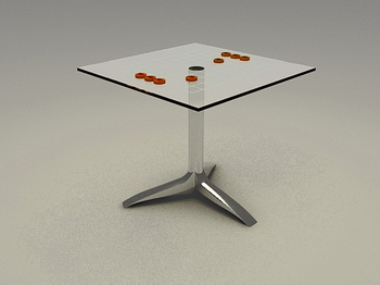 Link toChess chess chess table, chess table 3d model of high-end coffee table