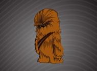 Chewbacca cartoon vector free