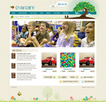 Link toChild website template