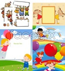 Link toChildren cartoon illustrations vector