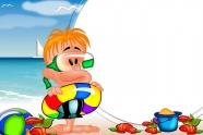 Link toChildren cartoon photo frame picture