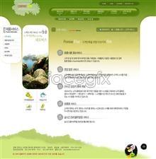 Link toChildren educational websites templates psd