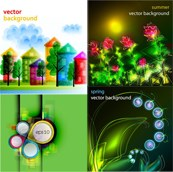 Link toChildren of color painting vector