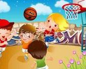 Link toChildren's basketball sport vector 2