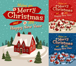 Link toChildren's christmas illustrations vector