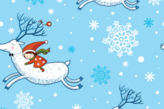 Link toChildren's christmas vector illustration