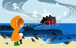 Link toChildren's ecological environment 9 vector