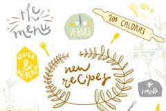 Link toChildren's fun cooking stickers vector