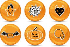 Link toChildren's halloween icon vector