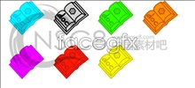 Link toChildren's painting doc document format icon