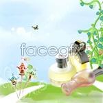Link toChildren's skin care water psd