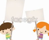 Link toChildren sign vector
