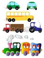 Link toChildren toy car vector
